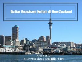 14 Jalur Beasiswa Kuliah di New Zealand yang dapat Anda Coba