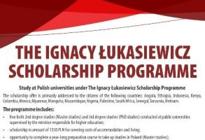 Beasiswa Pemerintah Polandia Ignacy Łukasiewicz