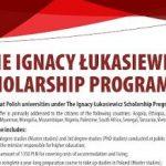 Informasi Beasiswa Kuliah di Polandia Melalui Program Ignacy Lukasiewicz Scholarship