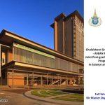 Beasiswa Full S2 Thailand di Chulabhorn Graduate Institute