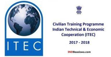 Beasiswa Pelatihan Gratis Berbagai Bidang oleh Pemerintah India