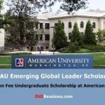 Beasiswa S1 Amerika FULL Tuition Fee di American University