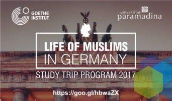 Studi Trip Gratis ke Jerman bagi Pemuda/i Muslim di Indonesia oleh Goethe Institut