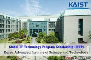 Beasiswa di Korea Selatan oleh KAIST Global ITTP Program S2 - S3