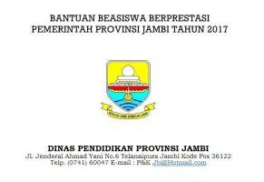 Beasiswa Jambi untuk SMA/SMK/D3/S1/S2/S3 dan Dokter Spesialis