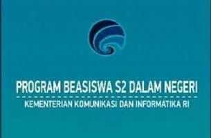 Program Beasiswa S2 Kominfo RI
