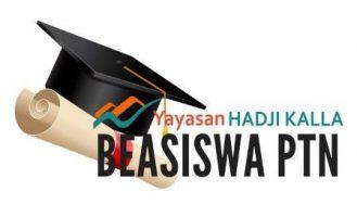 Beasiswa Yayasan Hadji Kalla untuk Mahasiswa S1 dan S2