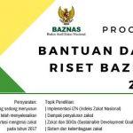 Bantuan Dana Riset Skripsi, Tesis, dan Disertasi dari BAZNAS