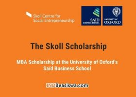 Beasiswa MBA di University of Oxford oleh Skoll Scholarship