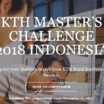 Kompetisi Beasiswa Master KTH Royal Institute of Technology di Swedia FULL Scholarship