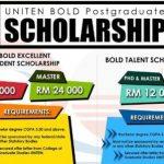 Scholarship Malaysia Program S2 - S3 oleh Universiti Tenaga Nasional (UNITEN)