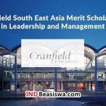 Beasiswa ke Inggris Kuliah S2 oleh Cranfield University