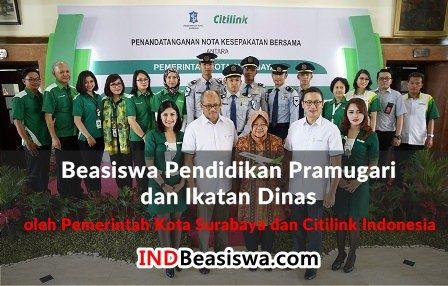 Beasiswa Pramugari Ikatan Dinas oleh Pemkot Surabaya dan Citilink Indonesia