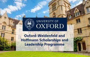 Beasiswa S2 Oxford University Tahun 2018 - 2019 Fully Funded