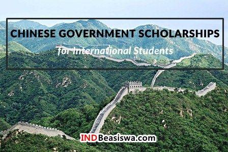 Beasiswa Tiongkok (CGS) untuk Kuliah S1, S2, dan S3 FULL Scholarship
