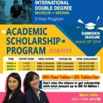 Academic Scholarship Program 2018 - 2019 from GS FAME Institute of Business Jakarta