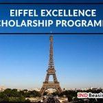 Eiffel Scholarship 2018 : Beasiswa Kuliah S2 - S3 di Perancis