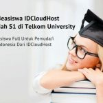 Program Beasiswa S1 Telkom University oleh IDCloudHost