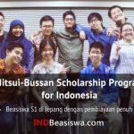 Beasiswa S1 Jepang Mitsui-Bussan Scholarship (Full Scholarship)
