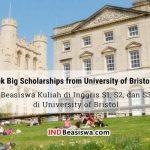 Beasiswa Kuliah di Inggris S1, S2, dan S3 di University of Bristol