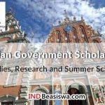 Beasiswa Pemerintah Latvia untuk Kuliah, Riset dan Summer School Tahun 2018 - 2019