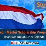 StuNed Scholarship: Beasiswa S2 Belanda Tahun 2018