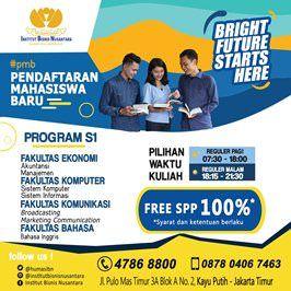 Beasiswa S1 Institut Bisnis Nusantara Tahun 2018 - 2019