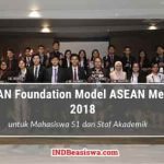 ASEAN Foundation Model ASEAN Meeting untuk Mahasiswa S1 ke Singapura (Fully Funded)