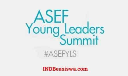 Konferensi Pemuda Asia-Eropa di Belgia selama 4 Hari (Fully Funded)