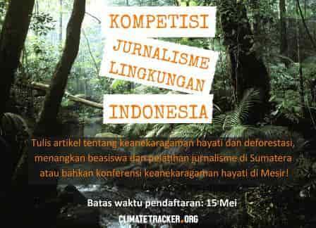 Beasiswa Pelatihan Jurnalistik untuk Pemuda/i Indonesia (Fully Funded)