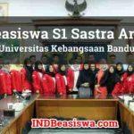Beasiswa S1 Sastra Arab di Universitas Kebangsaan Bandung 2018 2019