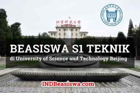 Beasiswa S1 Teknik di University of Science and Technology Beijing