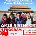 Beijing Sister City Youth Camp 2018 untuk Pemuda/i Jakarta (Fully Funded)