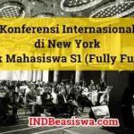 Konferensi Internasional di New York untuk Mahasiswa Sarjana (Fully Funded)