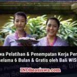 Beasiswa Bali WISE untuk Lulusan SMA SMK Sederajat