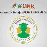 Beasiswa Pelajar SMP SMU oleh Yayasan K-Link Care