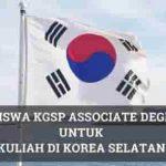 Beasiswa KGSP Associate Degrees untuk Kuliah di Korea
