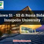 Beasiswa Kuliah di Rusia S1 - S2 oleh Innopolis University