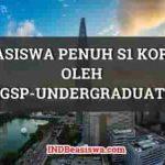 Beasiswa S1 Korea oleh KGSP Undergraduate Beasiswa Penuh