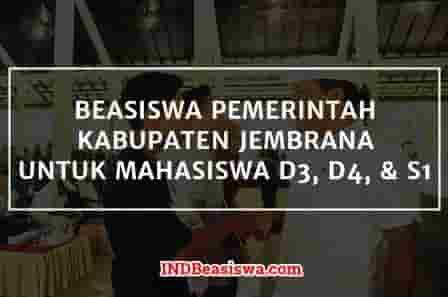 Beasiswa Kabupaten Jembrana Bali Untuk Mahasiswa Indbeasiswa